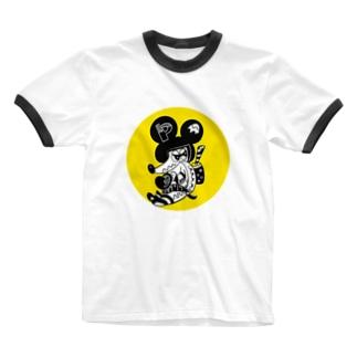 ウチューチュー Ringer T-Shirt
