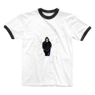 能面2 Ringer T-shirts