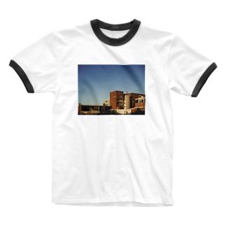 フォト/オランダ風景1 Ringer T-shirts