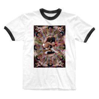 変態曼荼羅 Ringer T-shirts