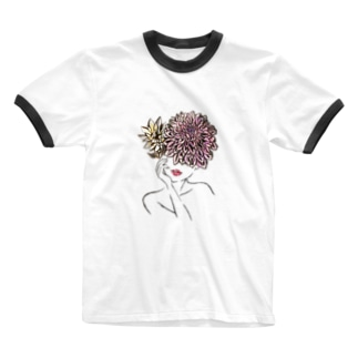 【 Dahlia Head 】part.1 Ringer T-shirts