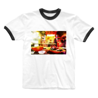 星港食神 Ringer T-shirts