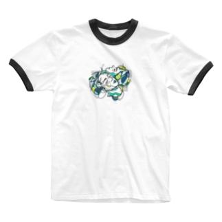 一方通行 Ringer T-shirts