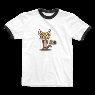 ザ・ワタナバッフルのテン:バイカー Ringer T-shirts