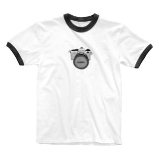 カメラ Ringer T-shirts
