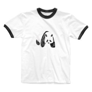 Echoes のPANDA Ringer T-shirts