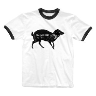 tragulidae Ringer T-shirts