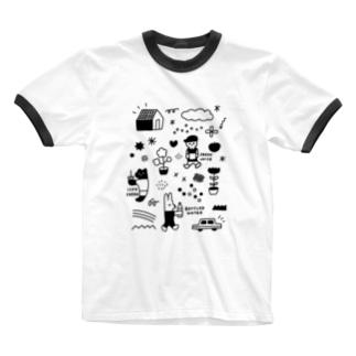 ぶれいくたいむ Ringer T-shirts