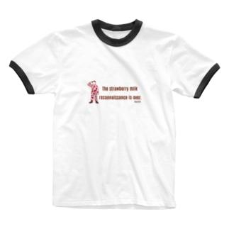 任務完了!(イチゴミルク) Ringer T-shirts