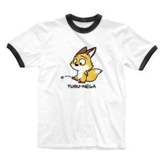 YURU-NEGA:7 Ringer T-shirts