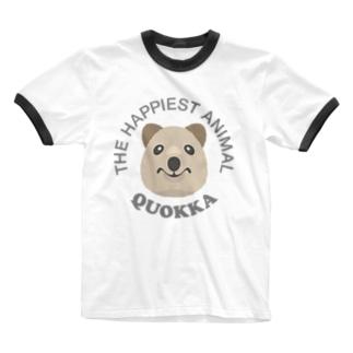 クオッカ(Quokka) Ringer T-shirts