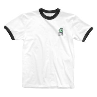 北極まぐのNUMO Ringer T-shirts