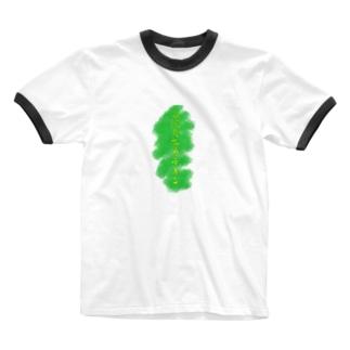 高 濃 度 茶 カ テ キ ン Ringer T-shirts