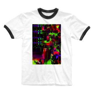 グラフィックTシャツ Ringer T-shirts