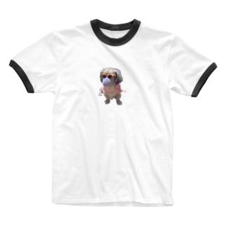 感染予防 Ringer T-shirts
