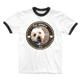 トイプードル ピピ Ringer T-shirts