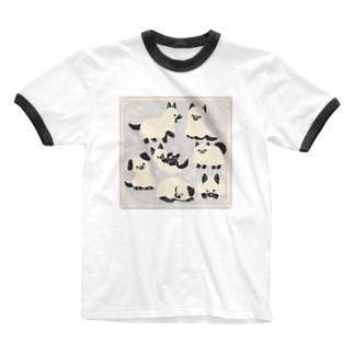 Ghost dog Ringer T-shirts