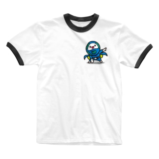 モッチブルーコレクション Ringer T-shirts