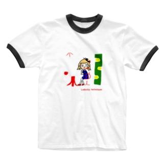 Ludovico techniques 60s Ringer T-shirts