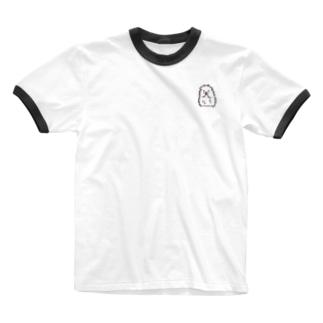 めしちゃん Ringer T-shirts