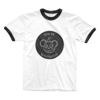 Jenny_Hardcoreのlaw of gravitation Ringer T-shirts