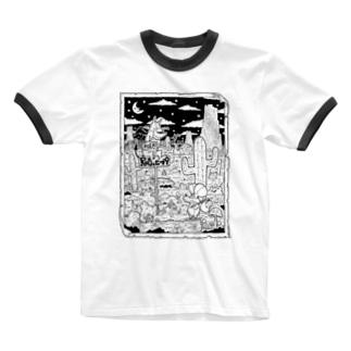 出会いと選択 Ringer T-shirts