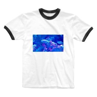 ウメイロモドキ Ringer T-shirts