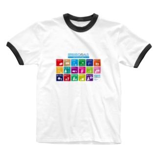 西之島団地 F棟のSPGs Ringer T-shirts