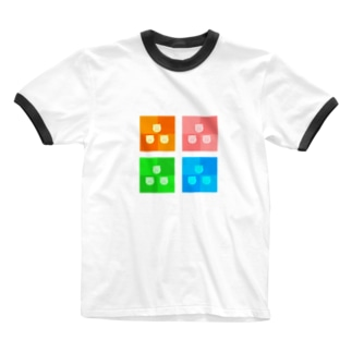 POME-POME-LAND-CL Ringer T-shirts