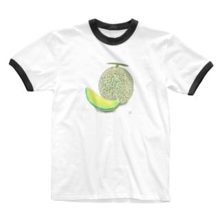 めろん Ringer T-shirts
