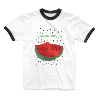 Suica day Ringer T-Shirt