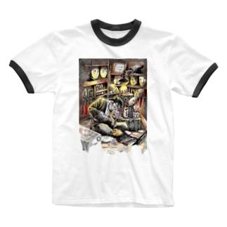 継ぐ者 Ringer T-shirts