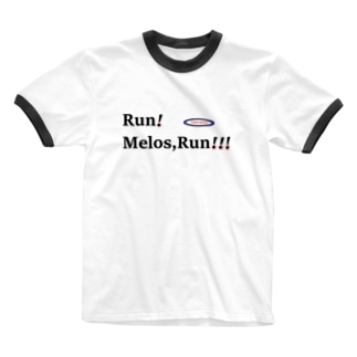 Literateeのメロス3 Ringer T-shirts