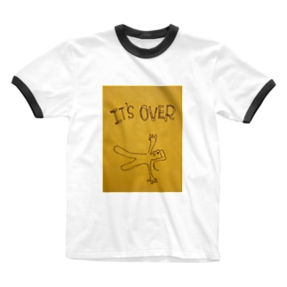 it's over Ringer T-shirts