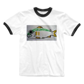 あゆ Ringer T-shirts