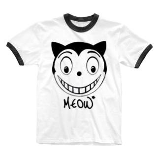 GOTHAM  CAT Ringer T-shirts