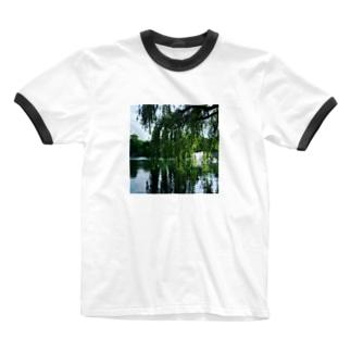 井の頭公園で待ち合わせ。 Ringer T-shirts