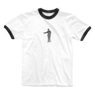ごごいすー Ringer T-shirts