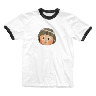 ひなぼー Ringer T-shirts