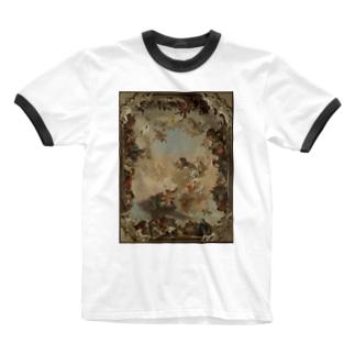 【世界の名画】ティエポロ『惑星と大陸の寓意画 』 Ringer T-shirts
