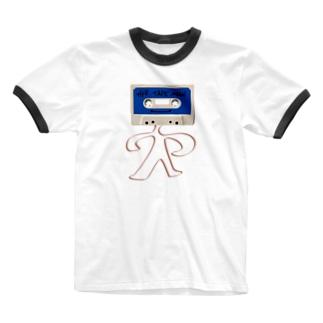 ザ テープマン! Ringer T-shirts