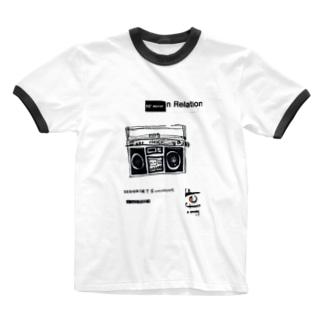 1980ラジカセ Ringer T-shirts