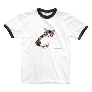 くるみさんシリーズ Ringer T-shirts