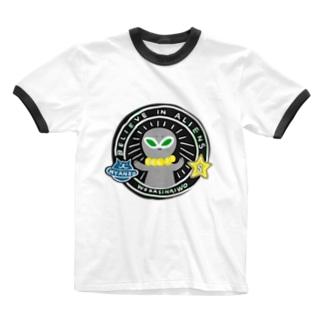 宇宙人はいるかも? Ringer T-shirts