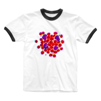 blood cells〜血球〜 Ringer T-shirts