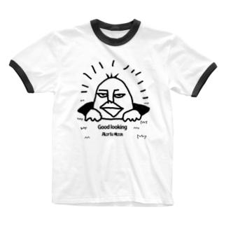 イケメン Ringer T-shirts