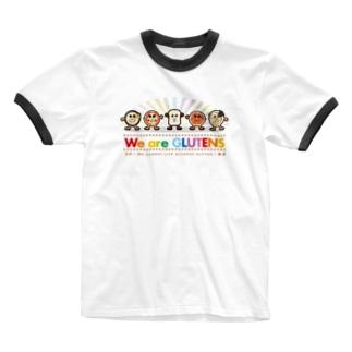 グルテン大好き! Ringer T-Shirt