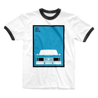 VOLVO Ringer T-shirts