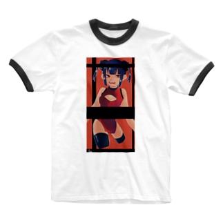 ちゃいながーる Ringer T-shirts