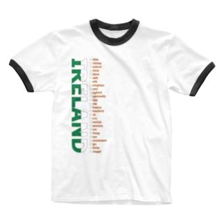 IRELAND Ringer T-shirts